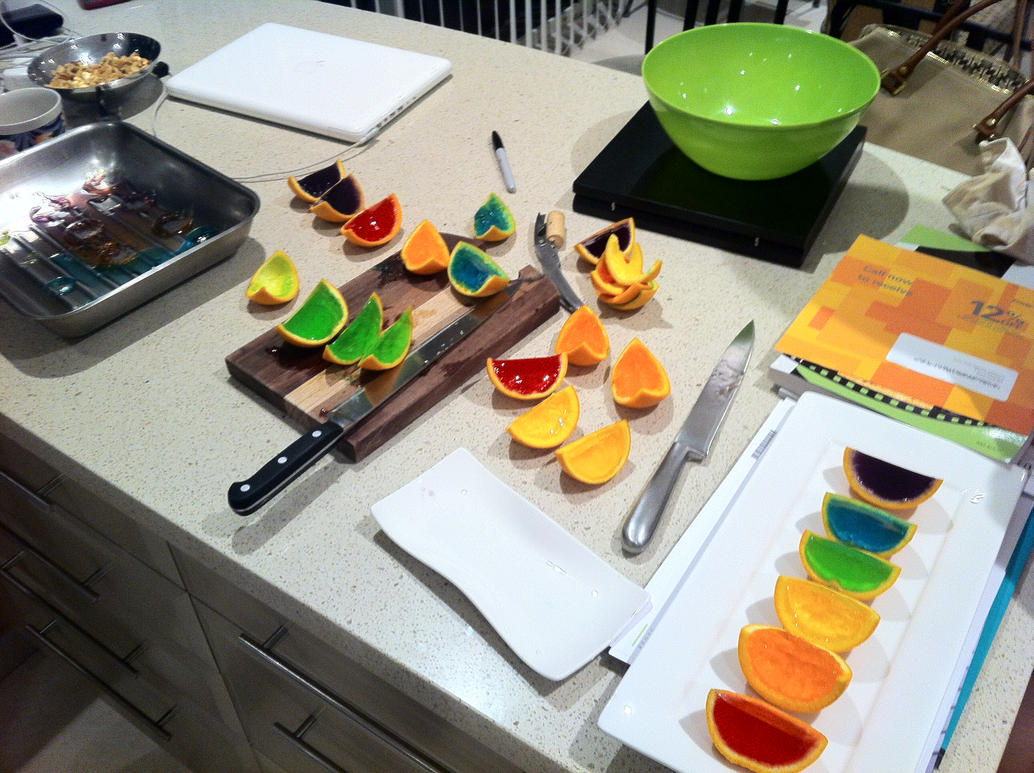 Phase Two of Jelly Oranges by CASSDOG