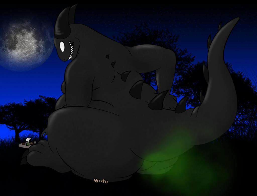 Midnight snack by Darkdeathgrace