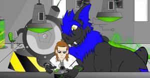 Animated cartoon on YouTube