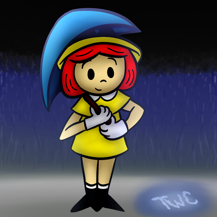 Madeline and the Rainy Day REDUX by tellywebtoons