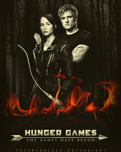 The Hunger Games Have Begun by JessMindless
