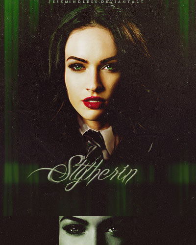 Megan Fox - Slytherin by JessMindless
