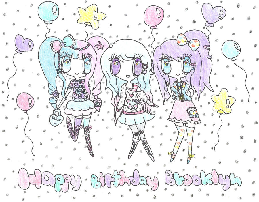 Happy Birthday Brooklyn by Bunny333501