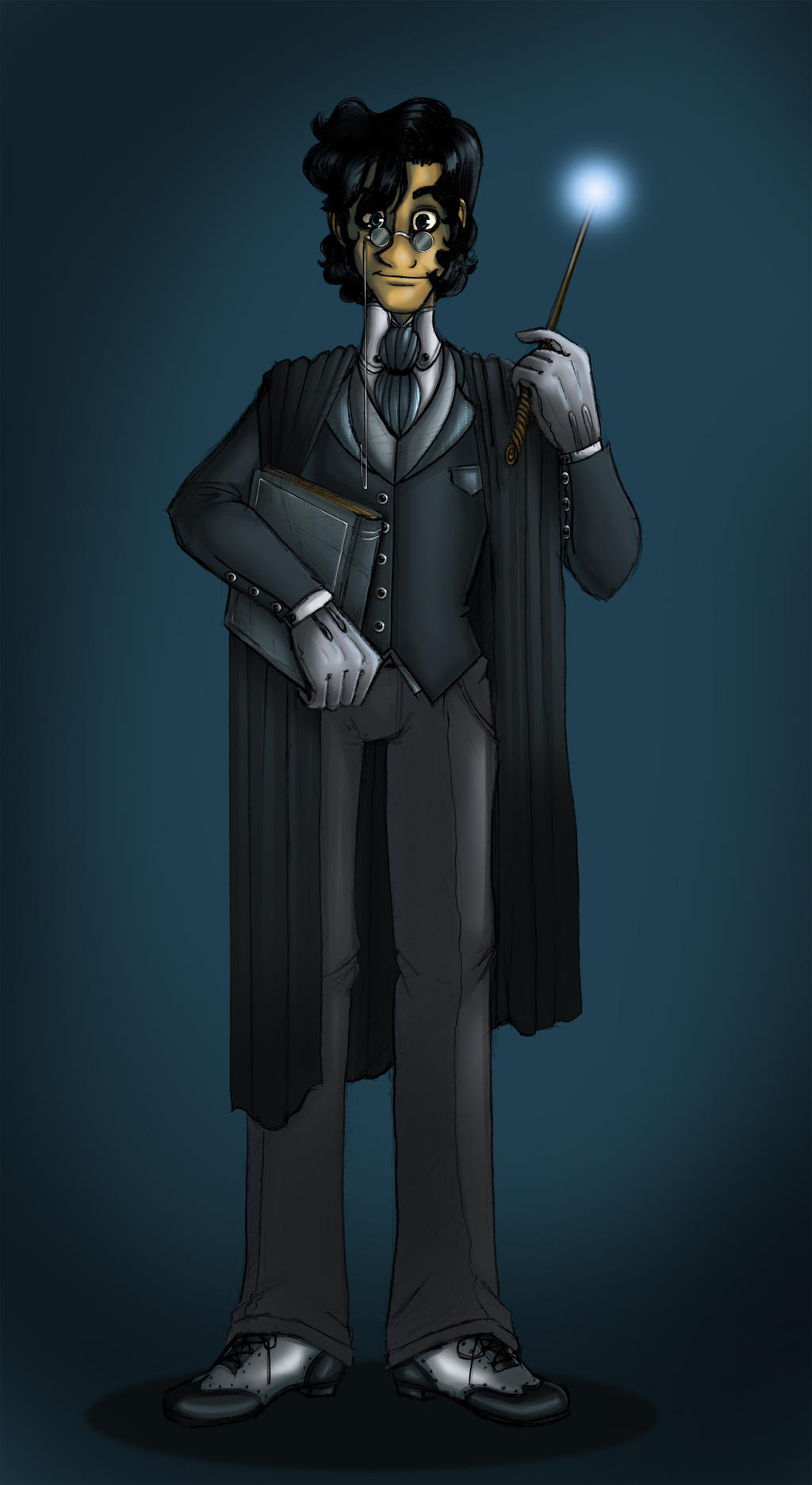 Professor Linus Ridge by OhSadface