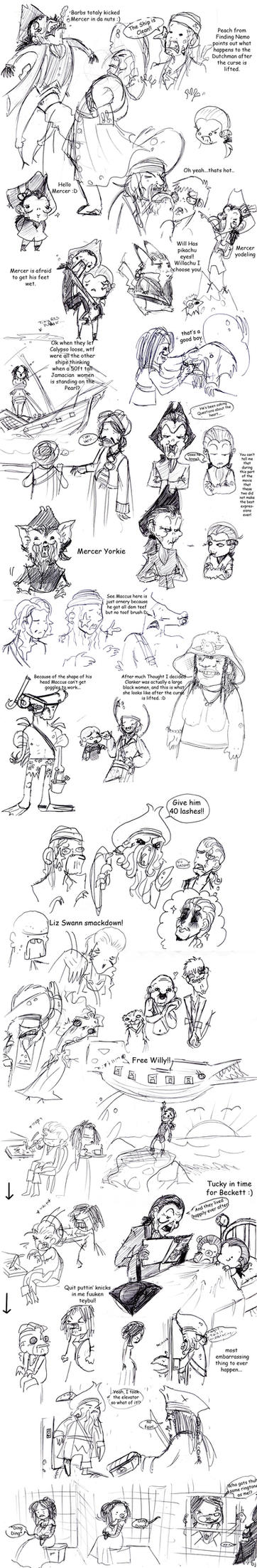 POTC: AWE sketch dump 5 by OhSadface