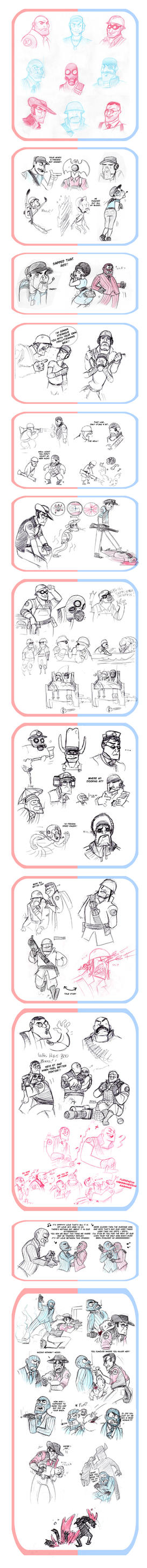 Team Fortress dump by OhSadface