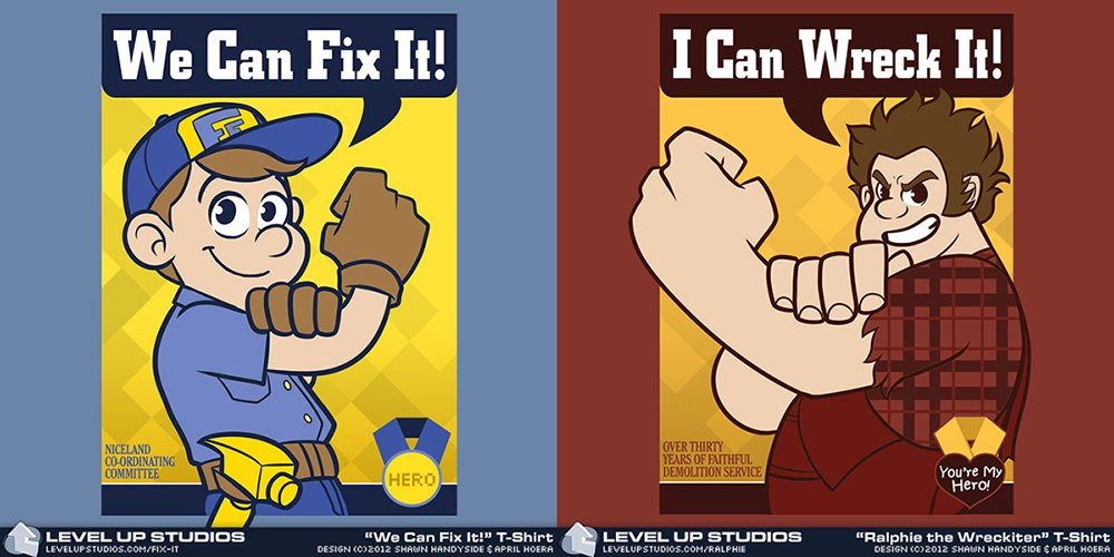 Wreck It Fix it Shirts by OhSadface