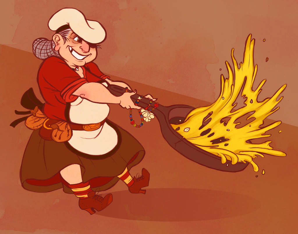 Yenta the Soul Chef by OhSadface