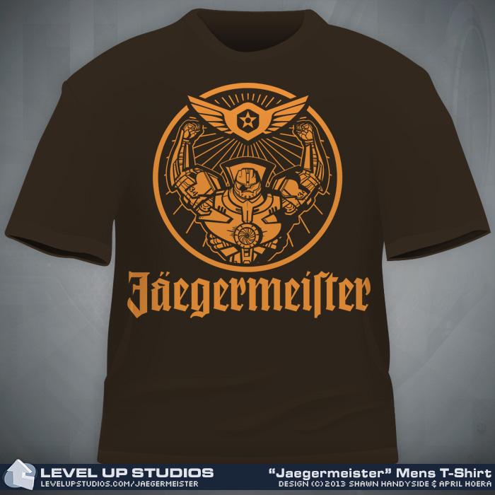 Jaegermeister shirt by OhSadface