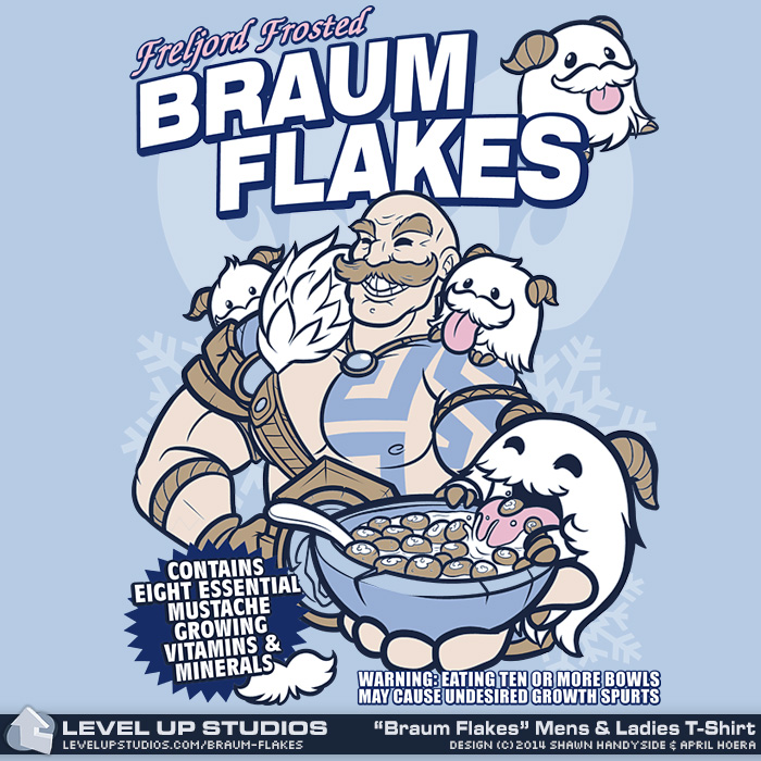 Braum Flakes by OhSadface
