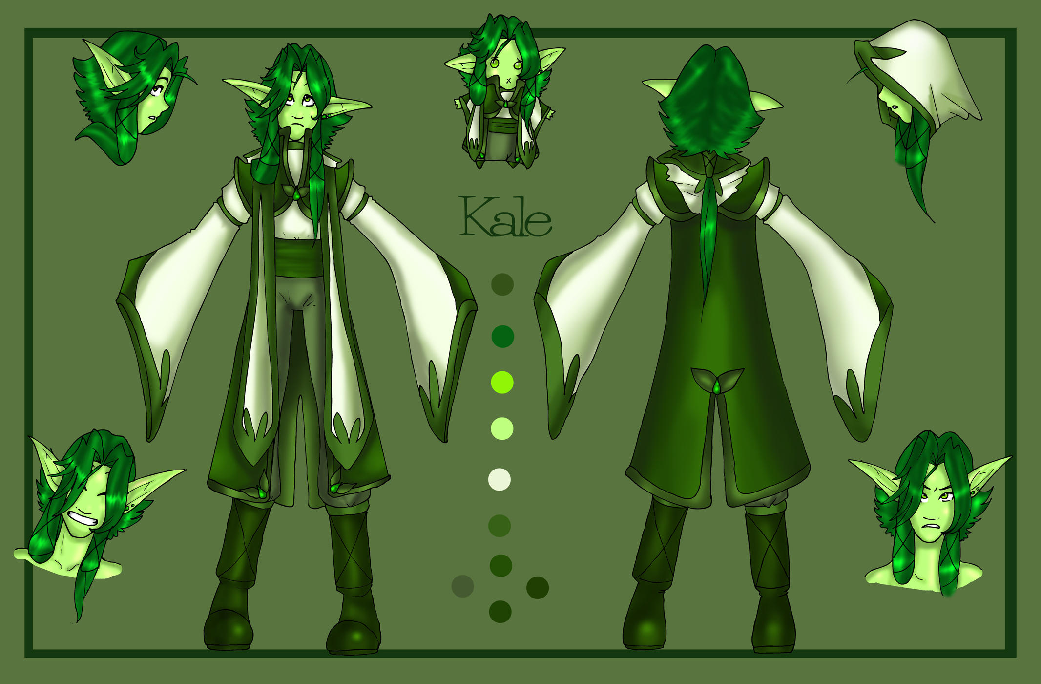 Juthanian Healer Kale by OhSadface