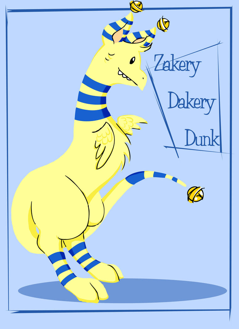 Zakery Dakery Dunk by OhSadface