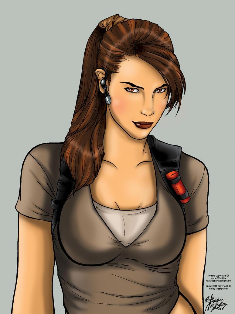 Lara Croft by OhSadface