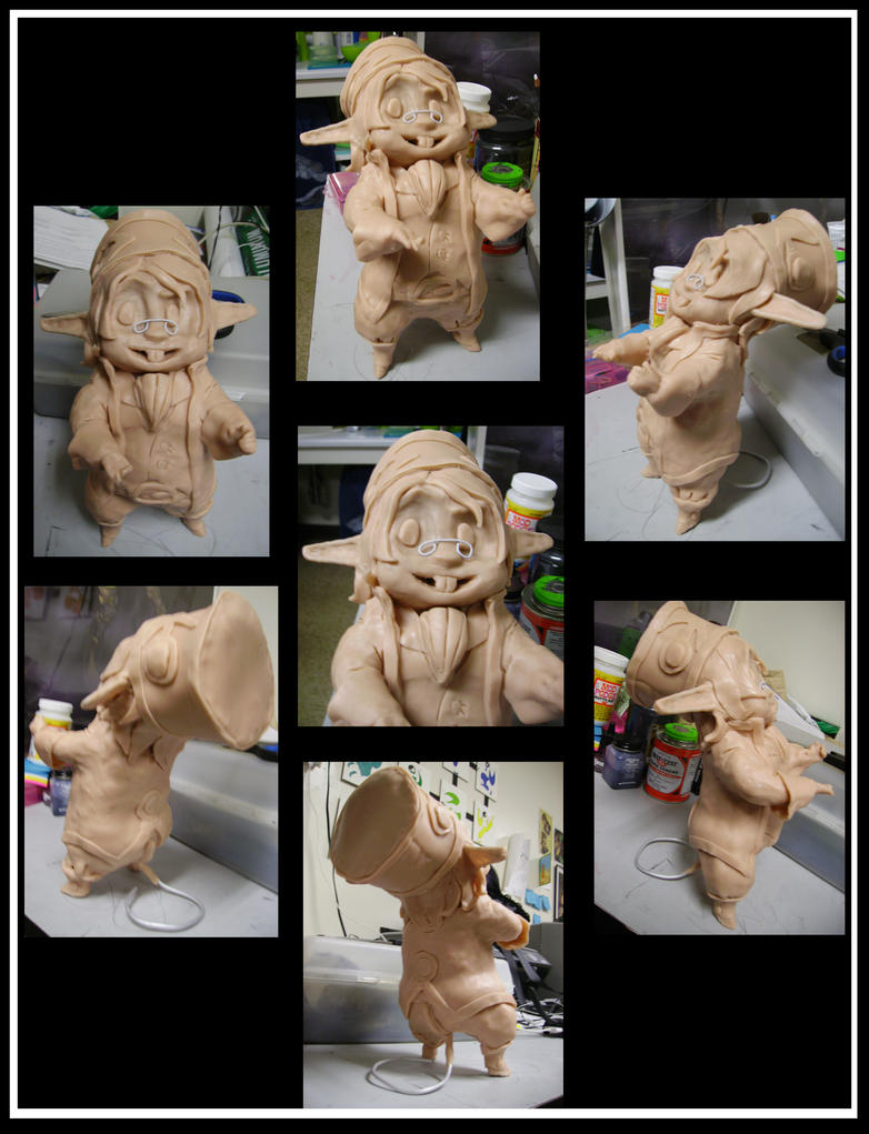 Characterization Maquette by OhSadface