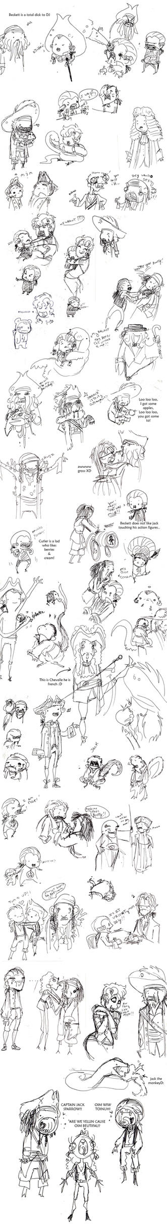 POTC AWE sketch dump 2 by OhSadface