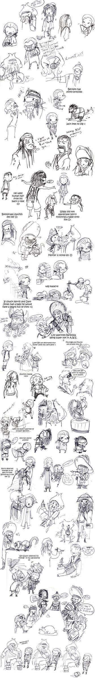 POTC: AWE sketch dump 3 by OhSadface