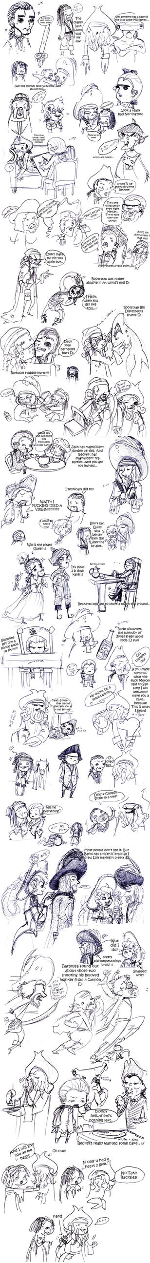 POTC: AWE sketch dump 4 by OhSadface