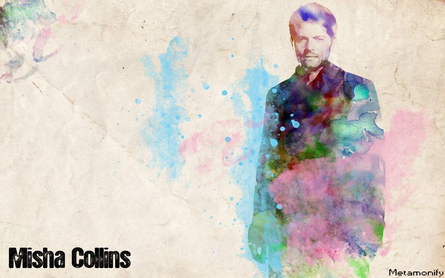 Misha Collins Wallpaper By Metamonify