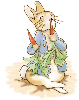 Peter Rabit in Inkscape