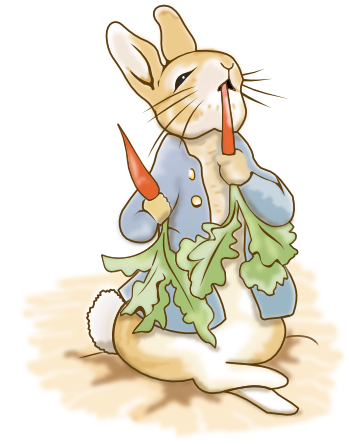 Peter Rabit in Inkscape by doctormo