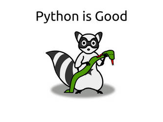 Python is Good by doctormo