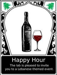 Lebanese Happy Hour Poster