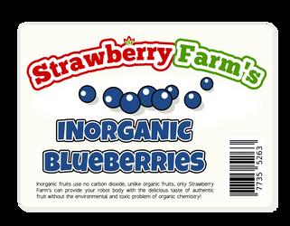 Strawberry Farm's Inorganic Blueberries
