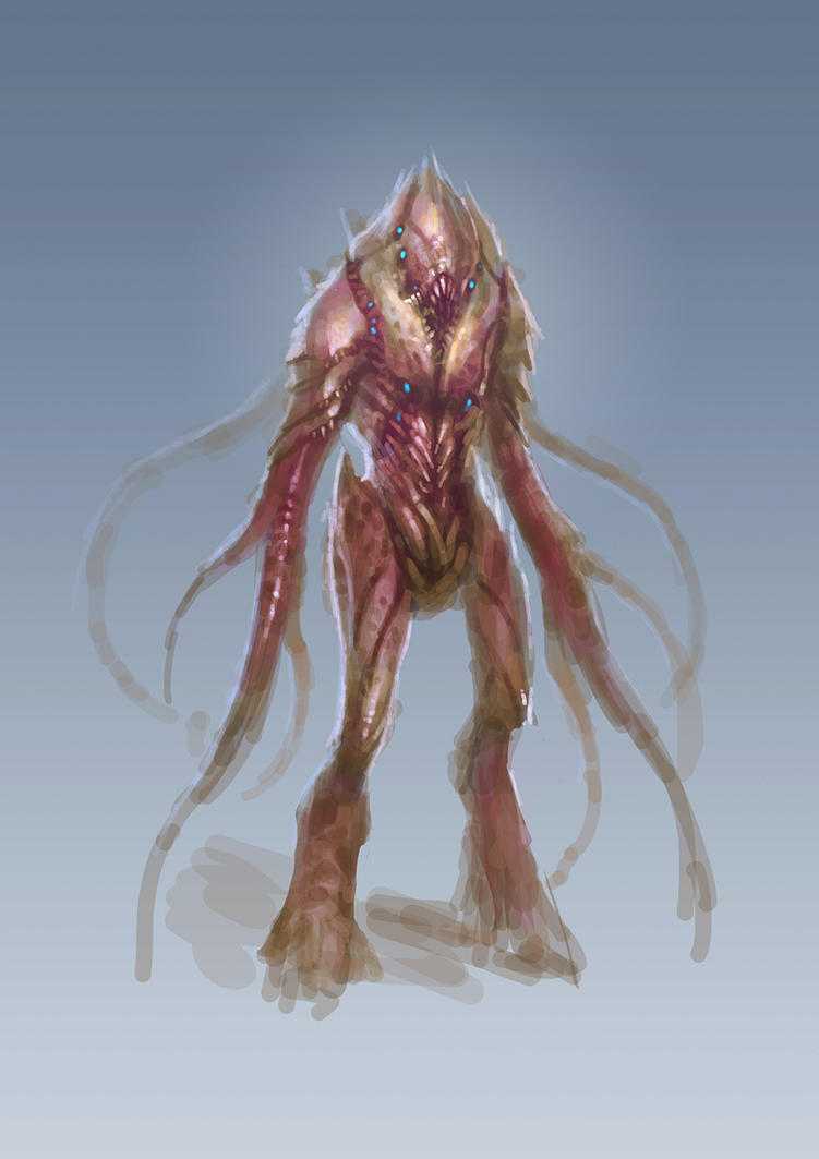 Humanoid creature work flow demo by cyl1981 on DeviantArt