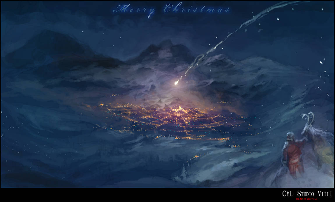 Merry Christmas 2013 ~ by cyl1981