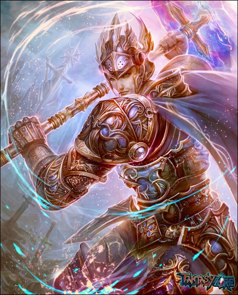 Holy Knight / Paladin by cyl1981