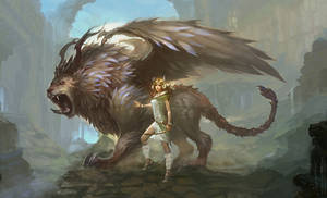 Chun Yu Lin Design's Fantasy Creatures: Chimera