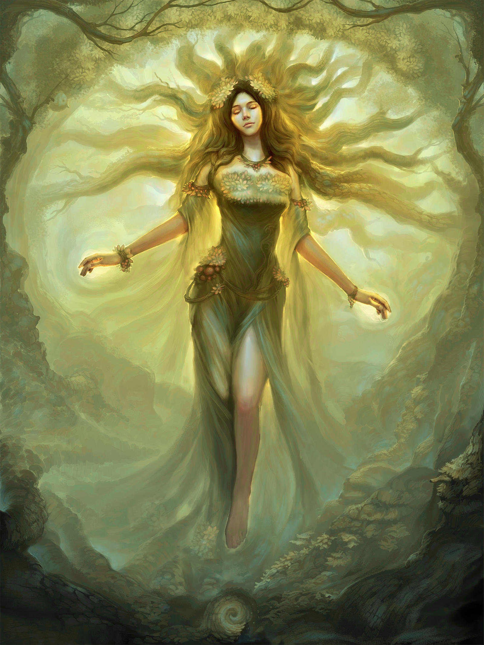 Mother Nature by cyl1981 on DeviantArt
