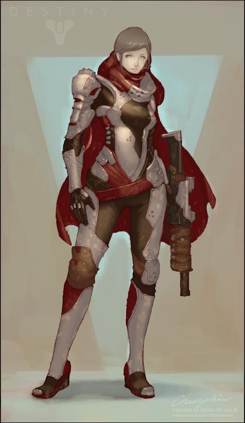20160106 Destiny Design no helmet by cyl1981