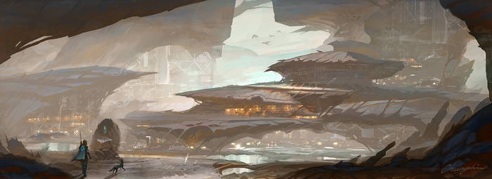 The Traveler Saga - Environment Concept arts