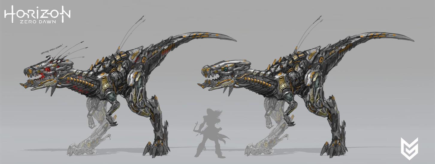 Horizon Zero Dawn Raptor Design by cyl1981