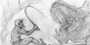 Thor versus Jormungandr