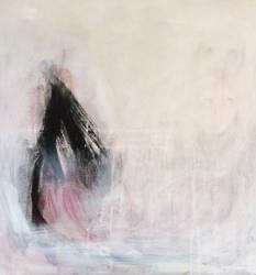 N.146 Acrylic Canvas 60x60 by MauraBertoia