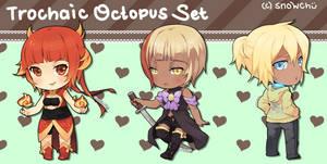 Commission: Trochaic Octopus