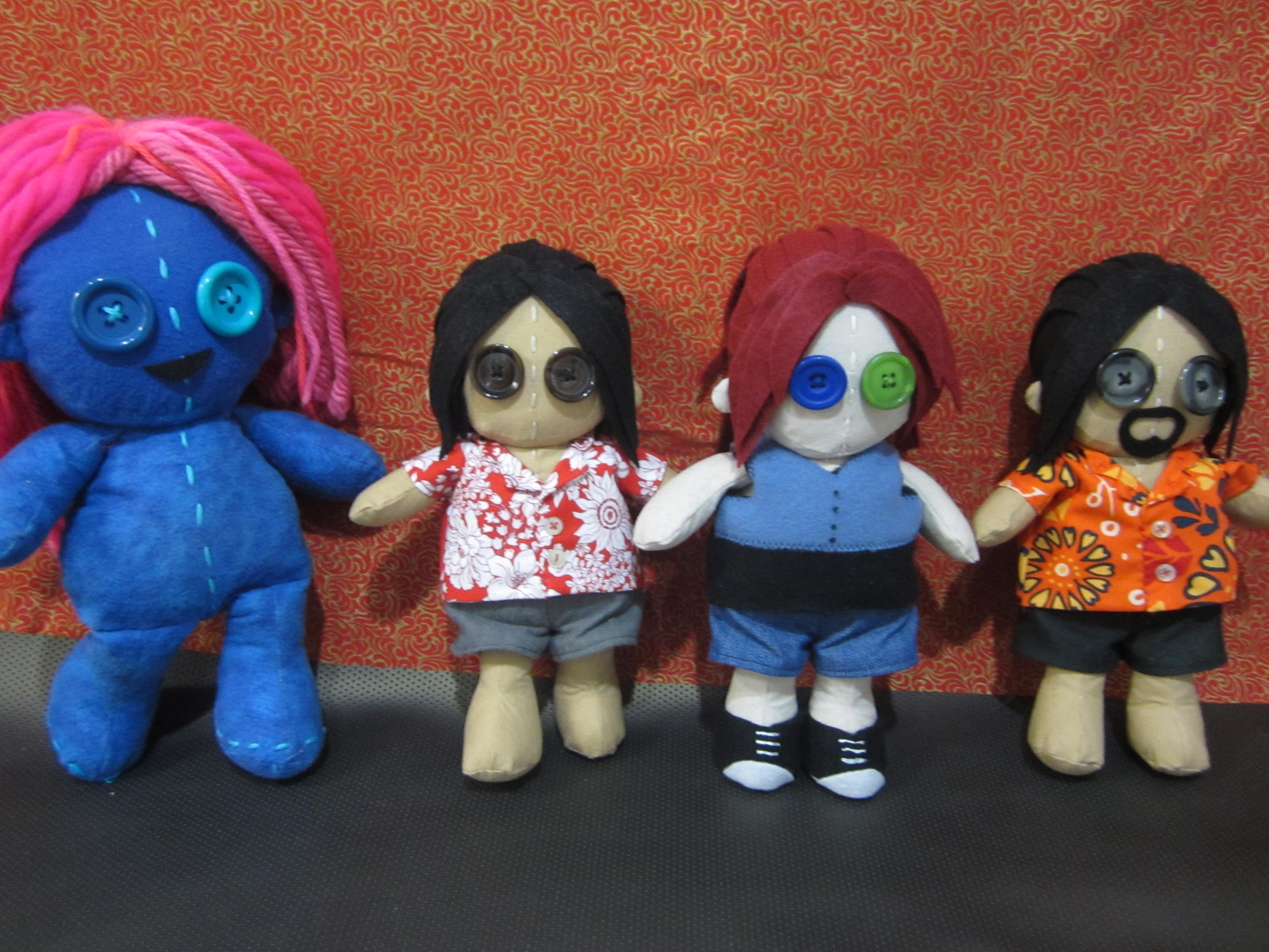 Mini Dolls for F1r3m0th by Rei2jewels