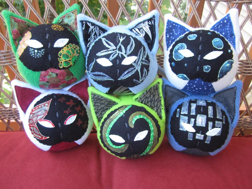 Cursed Kabuki Kitties by Rei2jewels