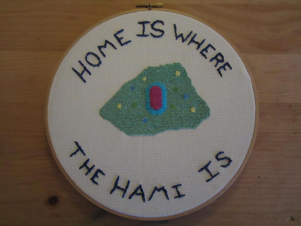 cross stitch hamidon by Rei2jewels