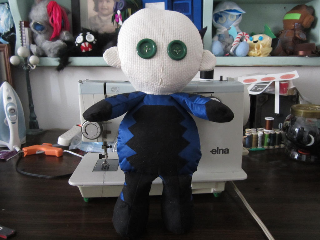 WiP hyperstrike doll by Rei2jewels