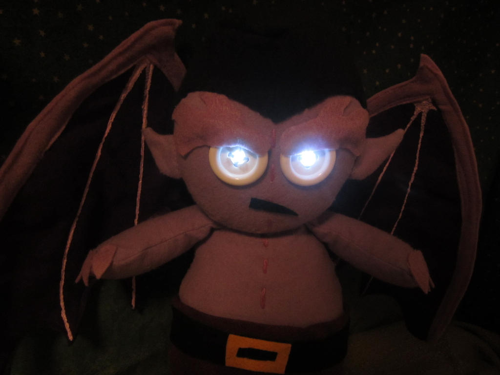 Goliath plush by Rei2jewels
