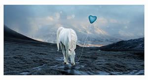 -- art trade -- blue love