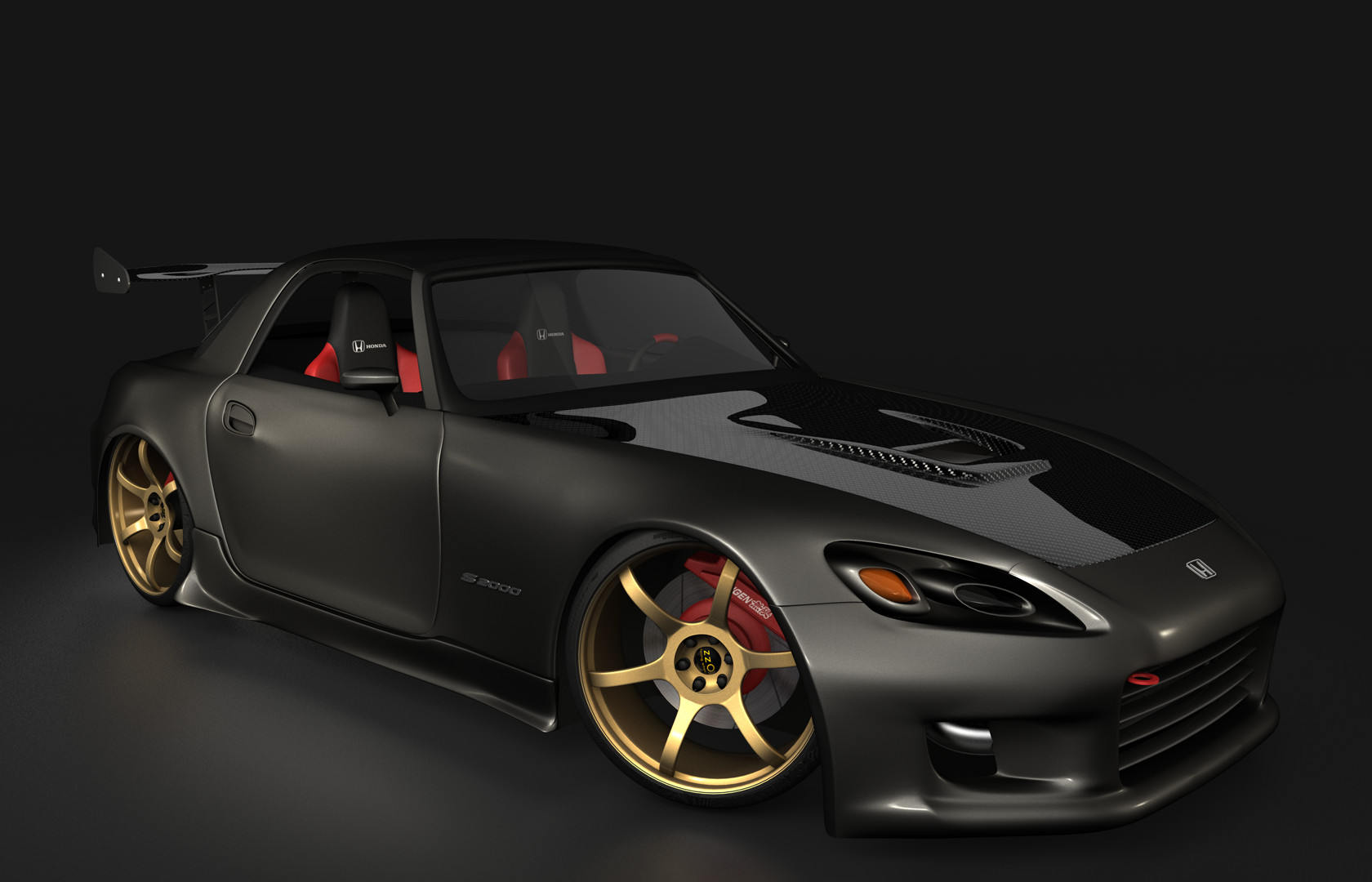 3d honda S2000 tuned by rizzodesign on DeviantArt