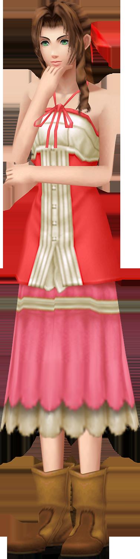 Aerith - Kingdom Hearts 2 by MissMinority on DeviantArt