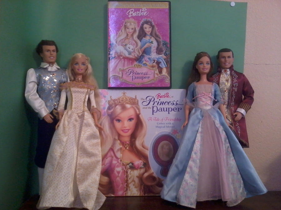 Barbie as the Princess and the Pauper Collection by ...