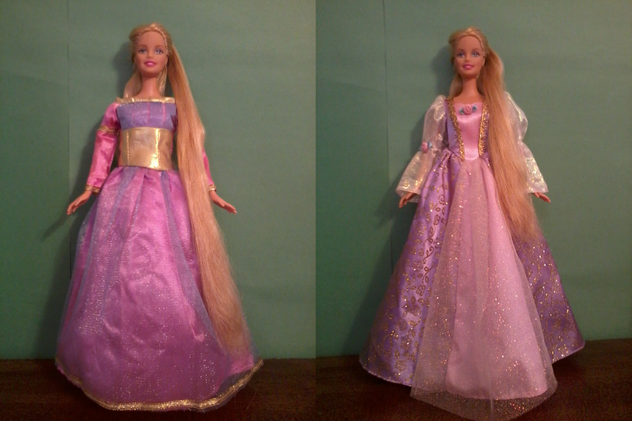 Untitled — Barbie Rapunzel Dress
