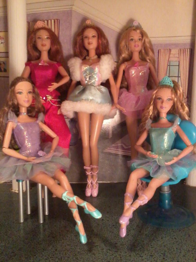 Barbie in the 12 dancing princesses dolls by - Barbie 12 princesse ...