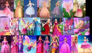 Barbie Movies: 2001 - 2012